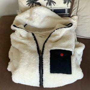 UGG Sherpa Fleece Jacket